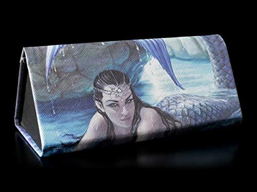 Fantasy Brillenetui mit Meerjungfrau-Motiv - Hidden Depth | Hartschale, Hardcase, Motiv von Anne Stokes