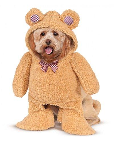 Horror-Shop Teddy Bär Hunde-Kostüm L