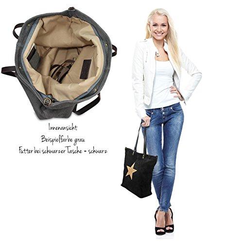 IO.IO.MIO Borsetta per le Icone® - Borsa shopper Donna nero