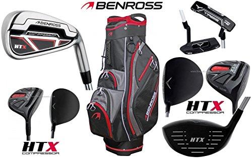 Benross HTX Kompressor komplett Alle Graphite Herren Golf Club Set rechts