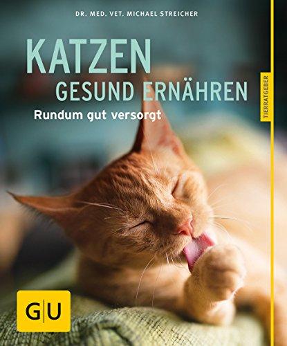 Katzen gesund ernähren gelb 12 x 3,5 cm (GU Tierratgeber)
