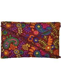 Utsav Women's Multicolour Sling Bag (Utsav 104)
