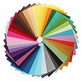 Filz Quadrate Blatt Stoff, in sortiert Farbe für DIY Craft Patchworks Nähen 20cm * 30cm
