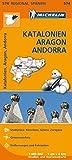 Michelin Katalonien, Aragon, Andorra: Straßen- und Tourismuskarte 1:400.000 (MICHELIN Regionalkarten) -