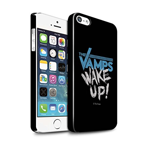 Offiziell The Vamps Hülle / Glanz Snap-On Case für Apple iPhone SE / Pack 6pcs Muster / The Vamps Graffiti Band Logo Kollektion Aufwachen!