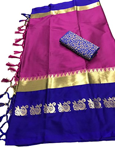 Women's Latest Designer Party Wear New Collection Cotton Silk Bollywood Trendy Elegant...