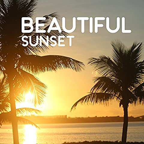 Beautiful Sunset - Ray Sun on the Sand, Sun Reflects in the Water, Sounds Beach, Romantic Sunset, Goodnight Kiss, Light of the Setting Sun, Last Days of Holidays