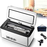 Insulin Cooler Refrigerated Case,USB Mini Medicine Refrigerator Portable Insulin Cooler Box Car Small Refriger