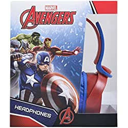 Oficial Marvel Capitán América Shield Guerra Civil Niños Auriculares