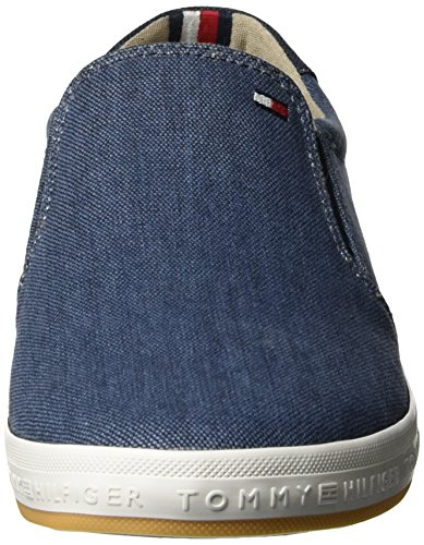 Tommy Hilfiger H2285owell 2d2, Sneakers Basses Homme Bleu (Jeans 013)