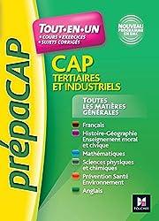 Toutes les matières générales CAP Tertiaires et Industriels Nouveaux programmes - Nº1