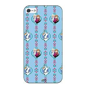 Hamee Disney Princess Frozen Official Licensed Designer Cover Hard Back Case for iPhone 6 / 6s ( Frozen Pattern )
