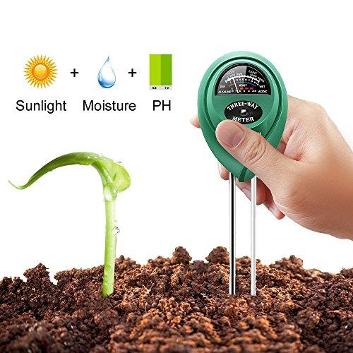 Werkzeuge Ehrlichkeit 2018 Neue 3 In 1 Boden Ph Wasser Feuchtigkeit Meter Säure Feuchtigkeit Sonnenlicht Garten Pflanzen Blumen Feucht Tester Instrument Werkzeug