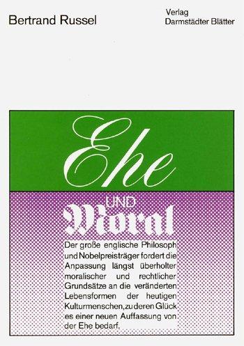 Ehe und Moral (Ehe Und Moral)