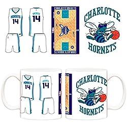 Taza NBA Charlotte Hornets