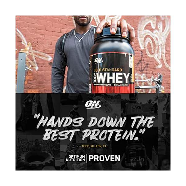 Optimum Nutrition Gold Standard 100% Whey Proteine in Polvere con Proteine Isolat ed Aminoacidi per la Massa Muscolare… 3 spesavip