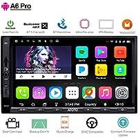 ATOTO A6 Pro A6Y2721PRB 2DIN Android Auto Navigation Stereo- 2X Bluetooth mit aptX -Schnelles Telefon Lade/Ultra-Vorverstärker -In Dash Unterhaltung Multimedia Radio,WiFi,Unterstützung 256G SD