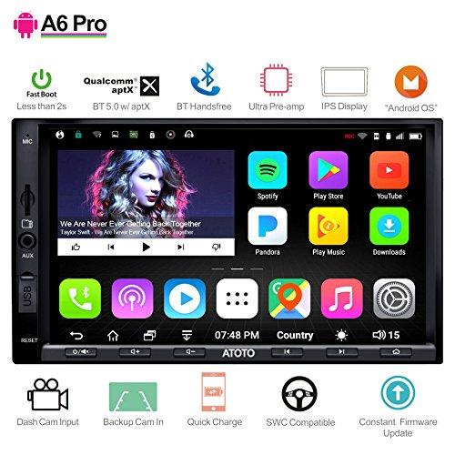 ATOTO A6 Pro A6Y2721PRB Navegación para Audio/Video de automóvil con Doble DIN...