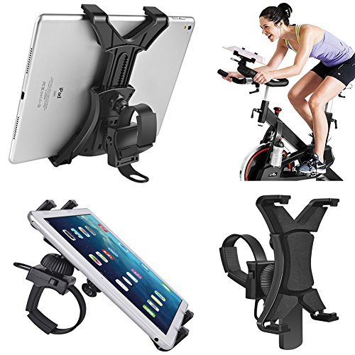 spinning Bike, universale per tablet iPad supporto per interni per attrezzi da palestra tapis roulant, cyclette, regolabile 360 ° girevole staffa di supporto per 7 - 30,5 cm tablet e iPad