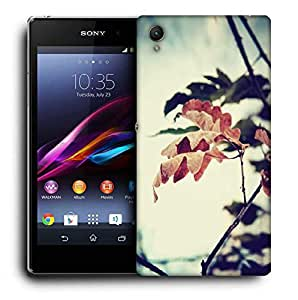 Snoogg Dry Leaves On Tree Designer Protective Phone Back Case Cover for Sony Xperia Z4