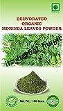 100% PURE& NATURAL 100G ORGANIC CERTIFIED MORINGA LEAVES POWDER Moringa oleifera - ORGANIC/ISO 22000:2005/FSSAI CERTIFIED PRODUCE