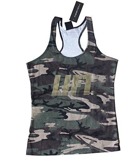 De la Mujer Camuflaje Lift camiseta de tirantes para Crossfit Fitness culturismo entrenamiento de running Ladies, medium