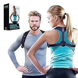 DYNMC you Posture Corrector for Men & Women - Haltungskorrektur Gerader Rücken - Geradehalter eine Größe - Rückenstütze für Damen & Herren