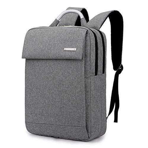 DXCSAA Business Rucksack Plane Mode koreanischen Studenten Tasche Computer Tasche 15,6-Zoll-Notebook-Rucksack, hellgrau, 15,6 - Koreanischen Tasche