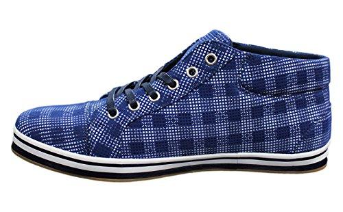 AK collezioni , Baskets pour homme bleu bleu 45 Bleu