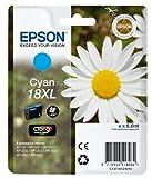 Epson Original T1812 Gänseblümchen, Claria Home Tinte, Text- und Fotodruck XL (Singlepack) cyan