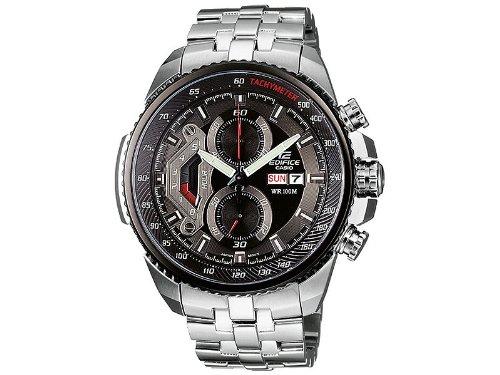 Casio Herren Chronograph Quarz mit Edelstahl Armbanduhr EF558D1AVEF
