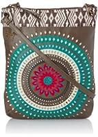 Desigual Womens Bols New Bag Flecos 4043 U Messenger Bag