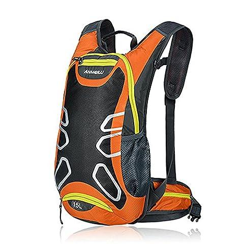 15L étanche vélo sac à dos - Anti-crack Breath antidérapante camping randonnée Alpinisme plein air Vélo épaule sac à dos, iParaAiluRy
