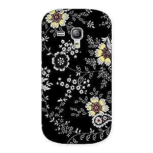 Premium Classic Flower Back Case Cover for Galaxy S3 Mini
