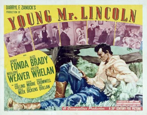 Young Mr. Lincoln Plakat Movie Poster (11 x 14 Inches - 28cm x 36cm) (1939) C