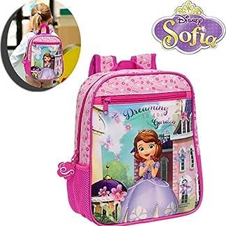 Mochila infantil escolar motivo PRINCESA SOFÍA 23 x 28 x 10cm(S)-Disney-4032151