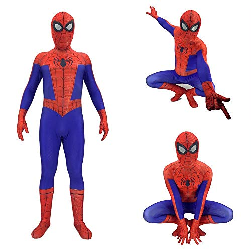 ng Spider-Man Anime Kostüm Parallel Universum Peter Parker Cosplay Kostüm Erwachsene Kinder Halloween Kostüm Adult-M ()