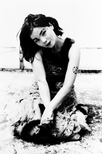Moviestore Björk 91x60cm Schwarzweiß-Posterdruck Bjork Fotos
