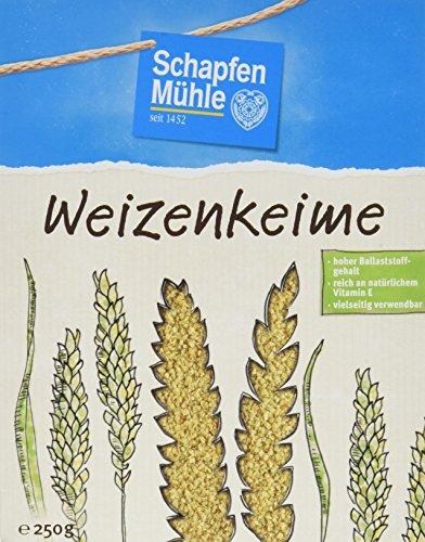 SchapfenMühle Weizenkeime premium, 10er Pack (10 x 250 g Packung)