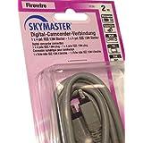 Skymaster Caméscope numérique 2m 1x 4broches IEEE 1394mâle vers mâle