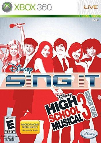 Disney Sing It: High School Musical 3 Bundle with Microphone -Xbox 360 by Disney Interactive Studios (Disney Sing It Für Xbox)