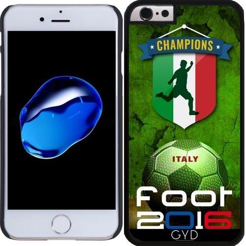 Coque pour Iphone 4/4S - Pied 2016 Italie by comlaprom Plastique Rigide
