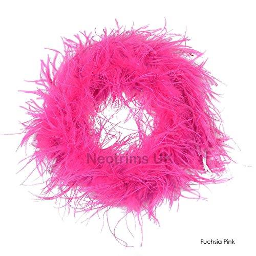 Neotrims Marabou & Strauß Feder Boa Fell Schal, für Party, Burlesque Tanz, Kostüm, Fancy Kleid, Kunstpelz