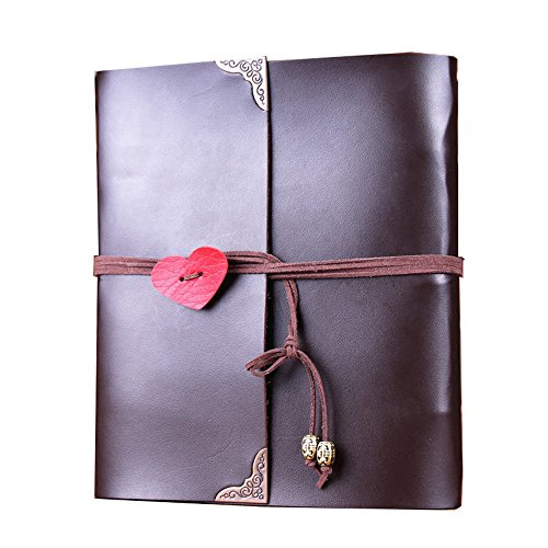 Scrapbook MAMACHU Leather Photo Memory Book Wedding Anniversary Valentines