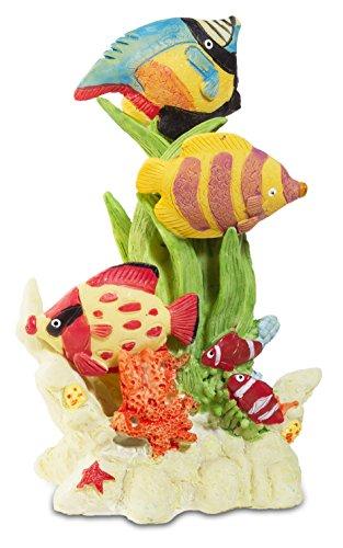 Katerina Prestige-Figura Peces Tropicales Sobre Coral, me0965