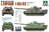 Takom TAK2004 - Carro armato Leopard 1A5/C2, 2 in 1, scala 1:35