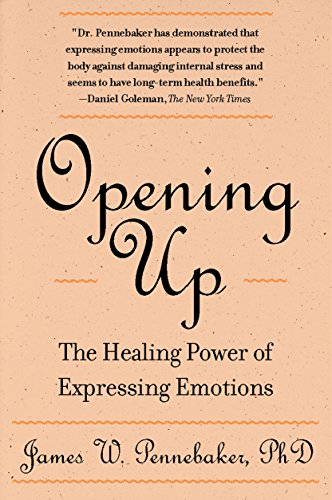 Opening Up: The Healing Power Of Expressing Emotions di James W. Pennebaker  PhD.