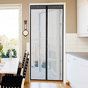 Jago tenda zanzariera magnetica calamita per porte 210 x 90 cm fai da te - Zanzariera magnetica finestra ...