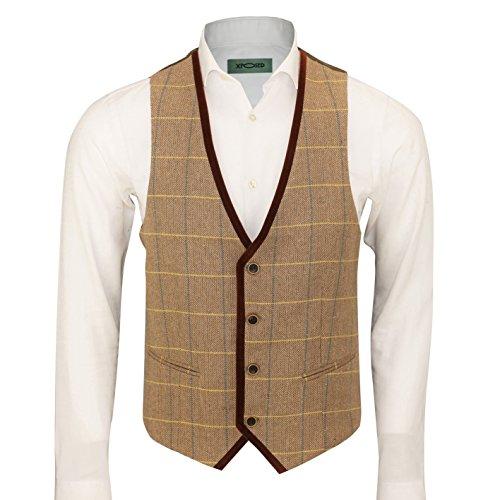 xposed-herren-anzug-karo-11684-cm-9144-cm-gr-27-waistcoat-pwc-light-oak