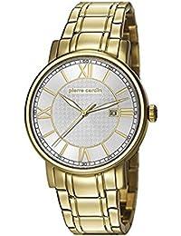 Pierre Cardin MONTPARNASSE Herrenuhr Edelstahl Gold Edelstahlband Gold PC106501F07